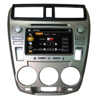 Car Replacement GPS Radio with DVD Player,TV and Bluetooth for Honda City 1.5