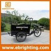family bakfiets big wheels tricycle with CE certificate