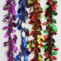 Hot PET/PVC battery operated christmas garland battery operated christmas garland decorative wire star garland