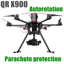 New professional QR X900 aerial aircraft GPS FPV autorotation parachute protection RC quadcopter helicopter toy