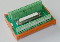 I/O terminal block module/DB hole-type plug-in modul/DB piug-in Terminal module/Terminal connector module
