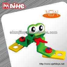 2014 plastic brick toy animal blocks cartoon building boy toys