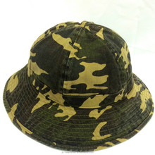 Custom-made high-quality 6 block dome camouflage fisherman's hat/bucket hat