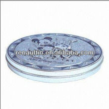 CD Tin Box with Embossing with CMYK Printing ,Popular Item in USA