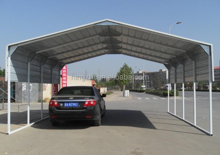 2 Car Carport Kits : Metal shelter carport for two car kits sale