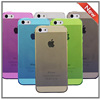 TPU GEL Plain Shinny SOFT Skin Case Cover For iPhone 5 5S 5G