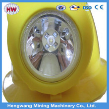 led rechargeable headlamp/coal mining lights/miners cap lamp