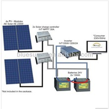 CHINA BEST off-grid and on-grid 5kw solar panel system for home