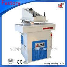 Prensa hidráulica de balanceo de los brazos de la tela de corte de la máquina