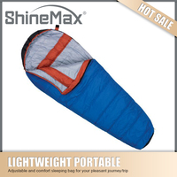 high quality lightweight mummy sleeping bag for extreme cold weather