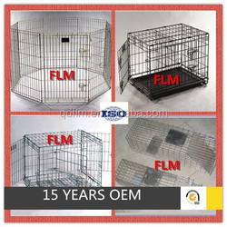 Pet enclosure fence dog kennel crate house cage