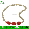 2015 new innovative product ideas Food grade bright colors beads baby silicone teething necklace