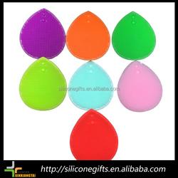 alibaba china durable unbreakable exfoliator silicone face brush
