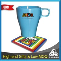 Promotional Gift Eco-friendly Coffee Cup Mat/ Coaster/phone holder