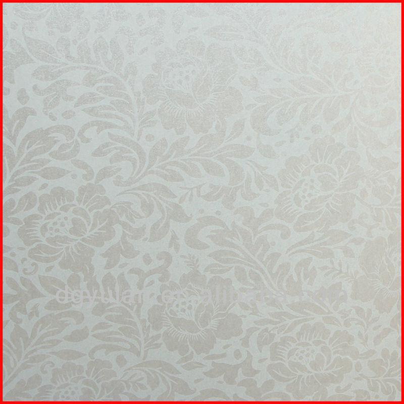 Gris elegante dise o de las flores 70 cm no tejido de - Papel pintado de los 70 ...
