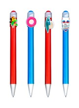 2015 the best advertising beach popularized pens /travel advertising giveaways for company gifts wholesale