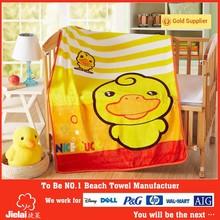 high quality duck printed blanket wholesaler