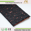 2015 fujian african nylon cotton fashion black cord lace