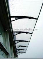 Plastic Canopy Awning,Modern Door Canopy