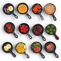 2016 super cute pan shaped 3d fridge magnet for whole sale