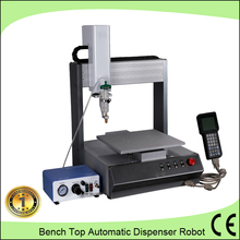 Bench top solder paste filling machine/3 axis automatic adhesive dispenser