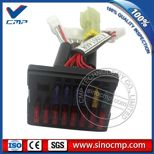 at daewoo excavator spare parts dh60 7 fuse box k1001468 2510 1010 daewoo lcd tv dh60 7 daewoo fuse box k1001468