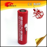 Suitable-price battery IMREN 18650 2900mAh 30A 3.7V Li-Mn rechargeable battery for torch, laser pointer, camera and etc
