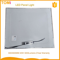 Historical Cheappest 40W 3000Lumens constant Driver 2 year warranty 600X600 LED Panel Light 10USD/PCS China bathroom led lightin