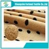 changshu quality textile fabric print pv plush fabric
