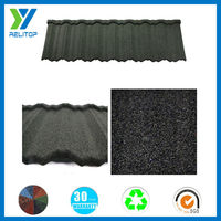 Sand coated roof/hail proofing colorful steel roof tile price