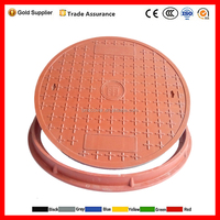 Heavy Duty square Ductile Iron Manhole Cover D400 EN124 For Sale