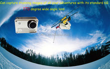 30M Waterproof 170 Degree Wide Angle Lens Full HD 1080p Sports Camera With Wifi