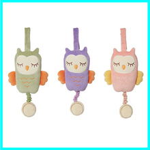 2015 Promotional Baby Owl Musical Plush Toy