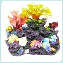 Realistic coral reef aquarium novelty fish tank ornament