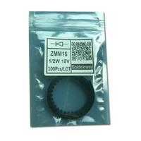 Original New 100pcs/lot Zener Diodes ZMM15 1/2W 15V smd 1206