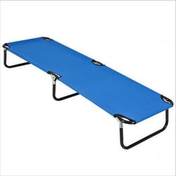 XY-206 Outdoor portable army military folding camping bed , cot nap bed , beach bed, camp hiking bed