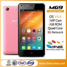 MG9 4.5inch MTK Android 3G WCDMA GSM Dual SIM A Smart Phone