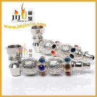 JL-243 Yiwu Jiju Dry Herb Vaporizer Smoking Pipe, WellFlexible Metal Pipe