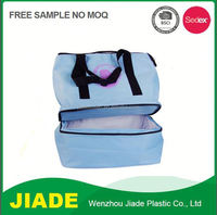 Outdoor fitness nonwoven insulated electric cooler bag