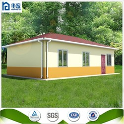 SGS Certified 60M2 Prefabricated pre made living house homes