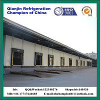 blast freezer cold room For Meat/fish/ shrimp/beaf/chicken with pu sandwich panel and germany bitzer