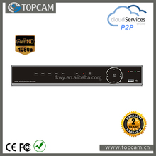 2015 best seller 1080p 4ch AHD DVR real-time support 2*HDD SATA Max 6TB Touch Screen P2P&Could