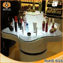 fashion cosmetic shop store furnitures for cosmetic display