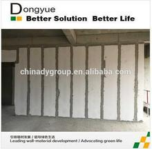 Foam concrete wall panel/decorative 3d wall panels/wall covering( Donyue machinery group )