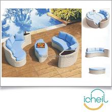 Lounge Sofa Setting Chair Swiming Pool Sofa Set /Rattan Outdoor Garden Furniture