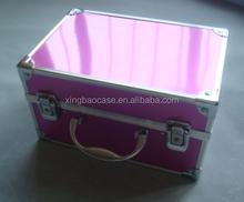 smart aluminum cosmetic case with new ecnomy matrial XB-CS881