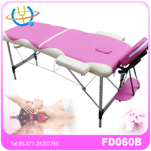 white deluxe adjust massage table/ special massage sex products