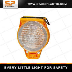 plastic solar powered led beacon
