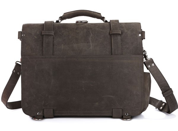 High Quality Hot Sale Drop Shipping Top Grade Multifunctional Vintage Style Fashion Men's Genuine Leather Travel Bag #7072J