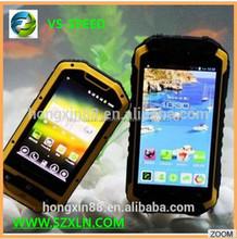 vsspeed mtk6589w cuádruple núcleo dual sim impermeable ip68 teléfono móvil resistente